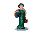 Lemax Vintage Jolly Holiday Shopper